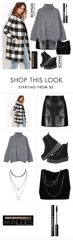 """Romwe coat, my way"" by ted98 ❤ liked on Polyvore featuring Gucci and Charlotte Russe"