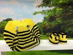 Vida com Arte | Tapa fralda e sapatinho abelhinha em crochê por Jaqueline Santos - 03 de Outubro - YouTube