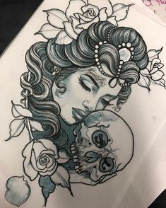 For Kelly Tattoo Traditional tattoo woman face, Girl face tattoo, Drawing Faces . - For Kelly Tattoo Traditional tattoo woman face, Girl face tattoo, Drawing Faces Tattoo Designs Wome - Tattoo Girls, Girl Face Tattoo, Girl Tattoos, Gypsy Tattoos, Portrait Tattoos, Neck Tattoos, Bodysuit Tattoos, Dragon Tattoos, Face Tattoos For Women