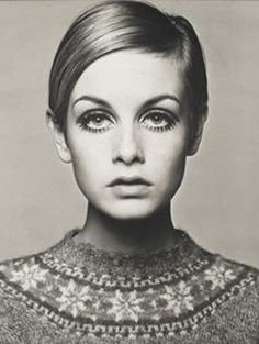 Twiggy, 1966 door Barry Lategan
