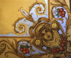 Marie Lecloux-Vanesse | Painter | Trompe-l'oeil & Decorative Finishes