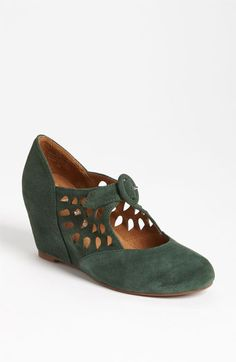 Jeffrey Campbell 'Torch' Mary Jane Wedge available at Nordstrom...come in gray and black too