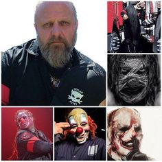 ¡Feliz cumpleaños #6 Shawn Crahan! // Happy birthday #6 Shawn Crahan!