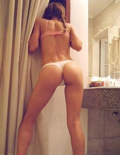 Sexy girls ass in thongs