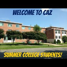 Today kicks off Summer College! If you're already on campus, snap a photo of your dorm room using #Caz2018!