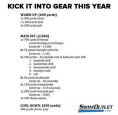 Need a new type of workout, let's HIIT the pool. Try our high intensity interval swimming workout! #fitness #swim
