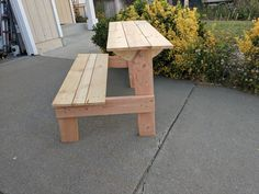 http://ift.tt/2rGXXqR Table and Bench in one