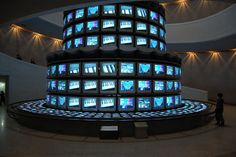 "Nam June Paik, ""Dadaikseon (The More, The Better)"" Time Based Art, Nam June Paik, Museum Of Contemporary Art, National Museum, New Media, Empire State Building, Seoul, Creativity, Artsy"