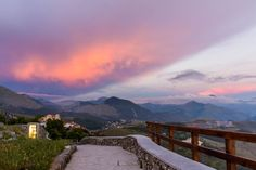 View from top of San Biagio, Maratea, It