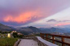 View from top of San Biagio, Maratea, It