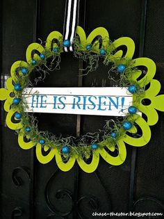 He is Risen! Happy Easter
