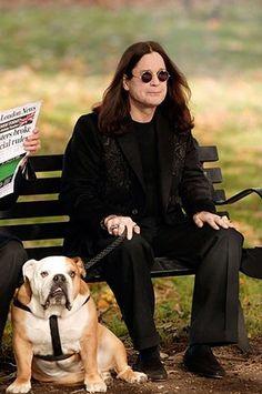 Ozzy Osbourne and Lola
