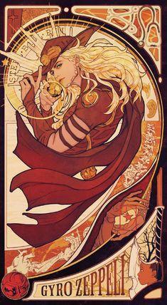 Gyro Zeppeli - Steel Ball Run - Image - Zerochan Anime Image Board Jojo's Bizarre Adventure, Jojo's Adventure, Jojo Bizarre, Bizarre Art, Blue Exorcist, Manga Anime, Anime Art, Character Art, Character Design