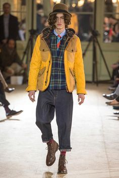 Junya Watanabe Fall 2014 Menswear - Collection - Gallery - Look 21 - Style.com