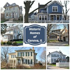 Historic Homes in Geneva, IL