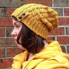 Calleigh's Clips & Crochet Creations: Free Crochet Pattern - Key Tab Slouchy