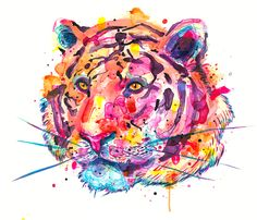 Year of the Tiger prints by Jordan Domont. Incredible color and concept chronicling Chinese Astrology. What is your year?