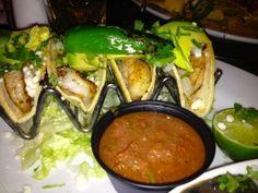 Shrimp Tacos from Bar Louie in Little Rock, AR.