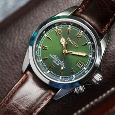 7c43df98324 Watches Wanted — Seiko Alpinist Sarb017 - New Goal Relógios Masculinos