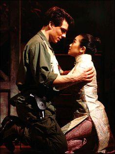 John Barrowman.  Miss Saigon  (playing Chris)  12/93