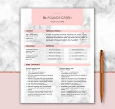 Nurse Resume Template For Word  Doctor Resume Template  Medical