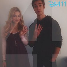 """Photo: Olivia Holt And Austin North Counting Down The Days Until """"I Didn't Do It"""" Premieres"""