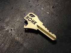 BOHK House Key with Integrated Bottle Opener - Basically, it's like the key to my heart...if my heart was a bottle of beer.