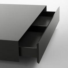 Descarregue o catálogo e solicite preços de Plat | mesa de centro retangular By kendo mobiliario, mesa de centro baixa lacada retangular design Estudi Arola