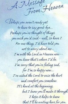 I miss you mom poems 2016 mom in heaven poems from daughter son on mothers day.Mommy heaven poems for kids who miss their mommy badly sayings quotes wishes. Miss Mom, Miss You Dad, Rip Daddy, Rip Grandpa, Missing Daddy, Nana Grandma, Letter From Heaven, Messages From Heaven, Grief Poems