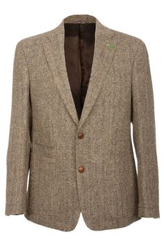 Barutti Refine Harris Tweed Jacket at The Harris Tweed Company Grosebay - Exclusive Harris Tweed