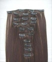 "20"" 10 Pieces Instant Clip in 100% Premium Remy Real Human Hair Extensions #4 Medium Brown by MyLuxury1st A+. $103.00. Ask your stylist how many strands you need to complete your style.  Make sure you are buying quality hair shipped and sold by MyLuxury1st"