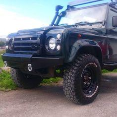 New bumper :) #landroverdefender #defender #offroad #diy by schtaggen New bumper :) #landroverdefender #defender #offroad #diy