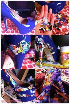 Tek renk ayakkabıdan sıkılanlara :) | Yenileme | Pek Marifetli!