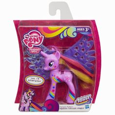 In store only i think. My Little Pony Fantastic Flutters Princess Twilight Sparkle Pony Figure My Little Pony Dolls, My Little Pony Cake, Hasbro My Little Pony, My Little Pony Twilight, Kids Toy Shop, Kids Toys, My Little Pony Poster, Sparkle Pony, Rainbow Rocks