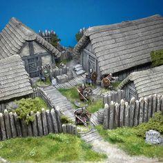 Magabotato Saxon Miniatures Thorfinstead 03