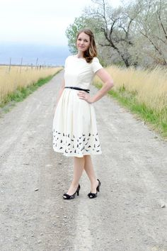 Simplicity 2444 - Project Sewn Leading Lady Challenge {lemon squeezy home}