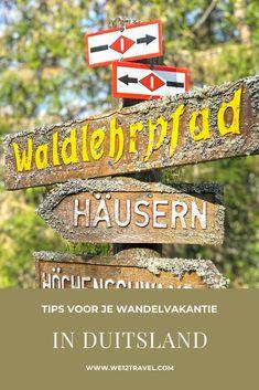 Op wandelvakantie naar Duitsland? Dit zijn de leukste bestemmingen! #wandelen #wandelvakantie #duitsland Best Hikes, Ultimate Travel, Outdoor Travel, Travel Guide, My Photos, Hiking, Calm, Adventure, World