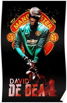 'de gea - Design is directed toward human beings.' Poster by padrogio The Computer, Your Brother, Goalkeeper, Manchester United, V Neck T Shirt, Classic T Shirts, Soccer, Football, Inuyasha