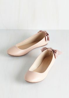Tasteful Touch Flat in Blush, @ModCloth