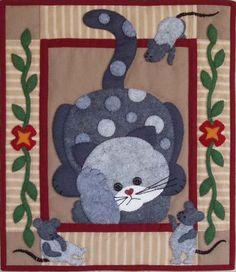 Quilt: El gato pensador