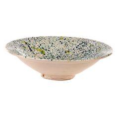 Pols Potten Festina Glazed Green Splash Bowl | Small Serving Bowls | Serveware | Dining Room | Heal's