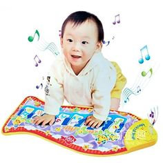 Kids Piano Musical Touch Play Crawl Mat Baby Fun Animal Game Child Toy for Xmas Gift * You can find more details by visiting the image link. Note:It is Affiliate Link to Amazon.