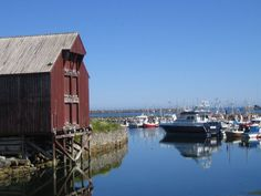 Andenes Hafen