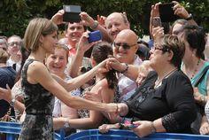 La Reina vuelve a su tierra en nombre de la princesa Leonor - Foto 3