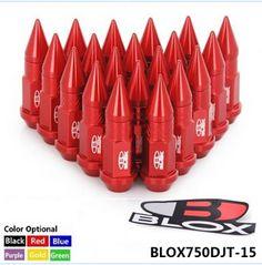 BLOX JDM Racing Aluminum Spike Lug nuts 50mm M12X1.5 BLOX750DJT-15