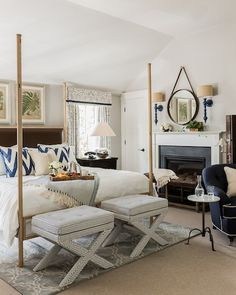 Shannon Berrey Design Blog...love the sconces and mirror
