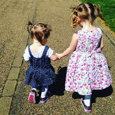 #sisters #bestfriends #siblings #happy love how they love each other #mummieswaitingblog #toddlers #lucky #park #daysout #trip #holidays by mummieswaiting