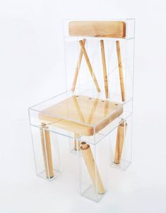 Student project: Exploded Chair by Joyce Lin - Esprit Design Furniture - Design Home Design, Interior Design, Interior Decorating, Decorating Ideas, Decor Ideas, Blog Design, Urban Design, Room Interior, Interior Ideas