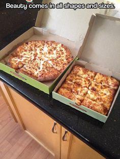 Mmmmm I want pizza now