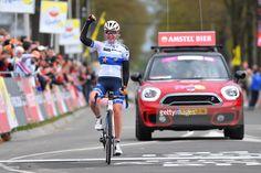 #AGR17 4th Amstel Gold Race 2017 / Women Arrival / Anna VAN DER BREGGEN (NED) European Champion Jersey / Celebration / Maastricht - Valkenburg (121,6Km) / Women /